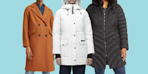 """<p>Winter comes suddenly and swiftly, often without warning. One minute it's a mildly crisp day and the next, we're dealing with bone-chilling temperatures and windy gusts of snow. This is why purchasing a warm winter coat—complete with <a href=""""https://www.prevention.com/beauty/style/g29102901/most-comfortable-winter-boots/"""" rel=""""nofollow noopener"""" target=""""_blank"""" data-ylk=""""slk:durable boots"""" class=""""link rapid-noclick-resp"""">durable boots</a> and <a href=""""https://www.prevention.com/fitness/workout-clothes-gear/g28327202/fleece-lined-leggings/"""" rel=""""nofollow noopener"""" target=""""_blank"""" data-ylk=""""slk:fleece-lined leggings"""" class=""""link rapid-noclick-resp"""">fleece-lined leggings</a>—is essential for battling the harshest cold-weather elements, but there are different kinds of winter coats to consider. Here's how to choose the best one: </p><h3>How to shop for the best quality winter coat: </h3><p>There are four main types of winter coats: puffers made with down material or down alternative, tailored wool blend coats, fur-lined parkas, and insulated performance jackets. Down jackets are insulated with feathers from duck or geese, but there are also down alternatives, which are made with synthetic materials. Down alternative jackets are less expensive than true down jackets but they also tend to be heavier. Down jackets are rated by their down fill power—the rating for how insulating the fill is. Generally speaking, the higher the fill power, the warmer the jacket. For example, a down jacket with a fill power of 550 to 750 is pretty warm and anything between 750 to 900 goes above and beyond. </p><p>On the other hand, wool coats are usually made with a blend of wool and polyester. Winter coats made with 100% wool are going to be the warmest. Then, there are parkas, a.k.a. an anorak jacket that's waterproof and hooded. Many parkas are also lined with faux fur to add to the insulation. If you work out outdoors or like going on hikes in the winter, insulated performance jackets """