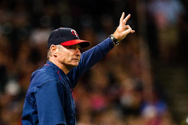 Paul Molitor of the Minnesota Twins won the 2017 American League Manager of the Year award (AFP Photo/Jason Miller)
