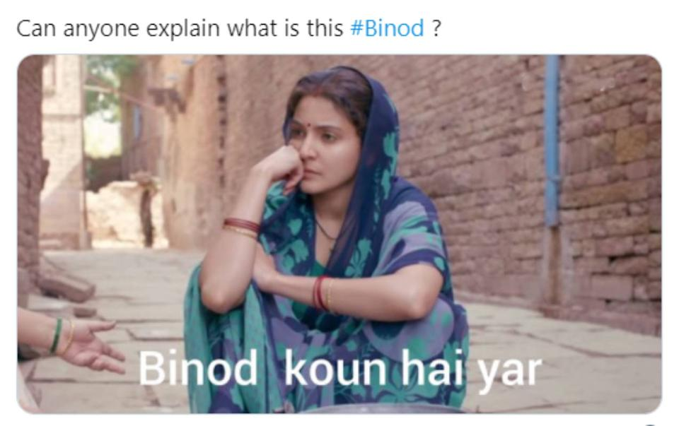 Twitter gets flooded with hilarious memes after a bizarre trend 'Binod'  goes viral...   Photogallery - ETimes