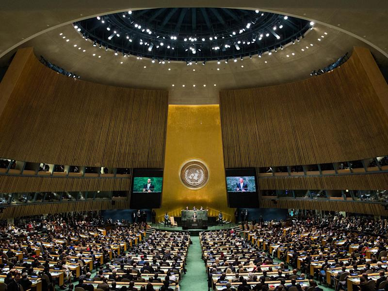 The UN has been criticised for not acting swiftly enough on the issue of abuse: AFP