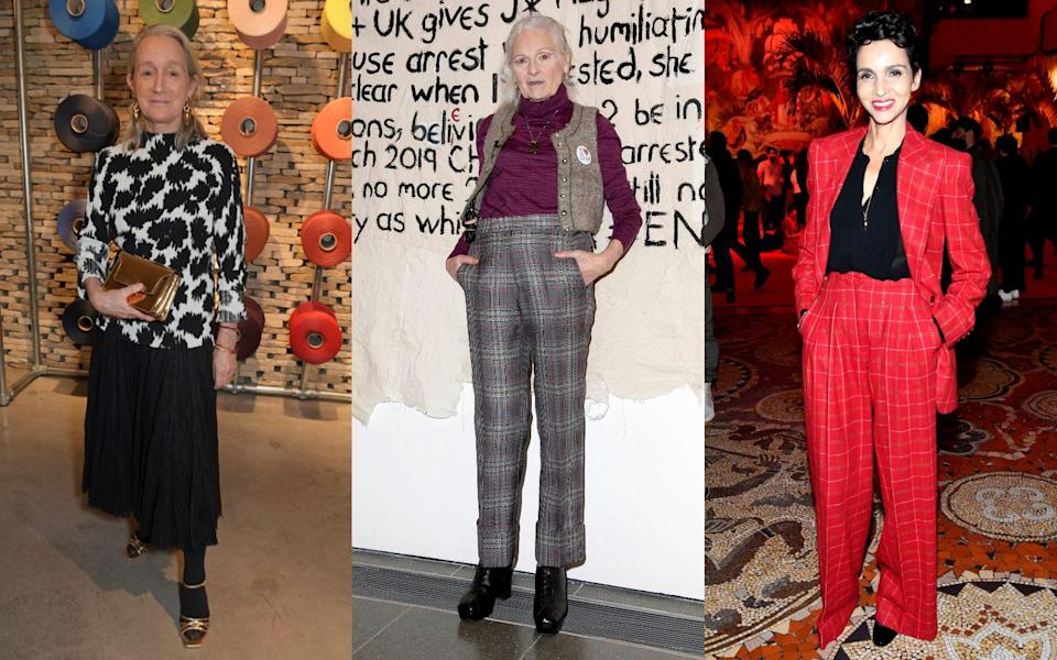 lucinda chambers farida khelfa vivienne westwood - Getty Images / Rex Features