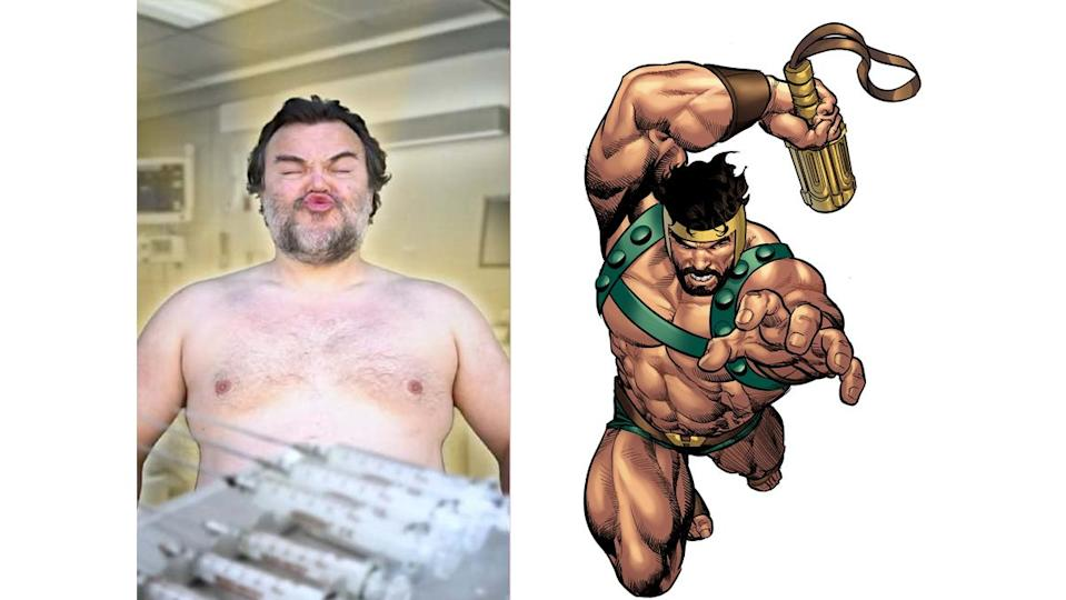 Jack Black would make an excellent version of Marvel's Hercules.