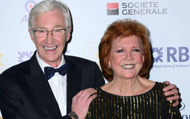 Paul O'Grady and Cilla Black/Rex Photos