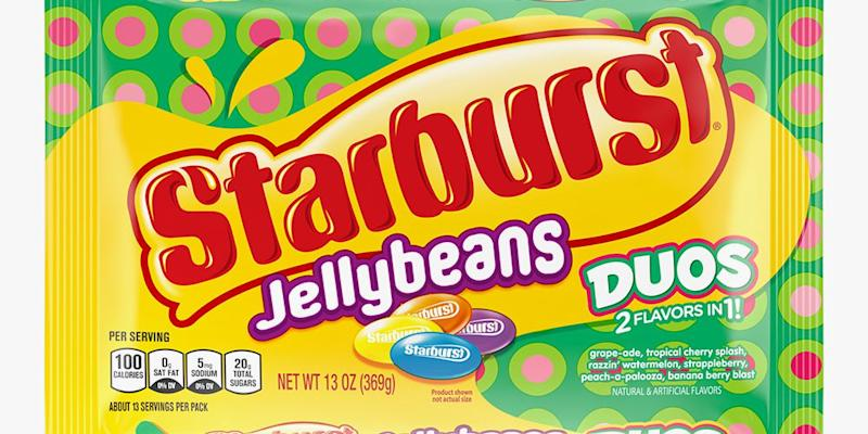 Incredible Starburst Jelly Beans Duos Have 2 Fruity Flavors In 1 Bite Squirreltailoven Fun Painted Chair Ideas Images Squirreltailovenorg