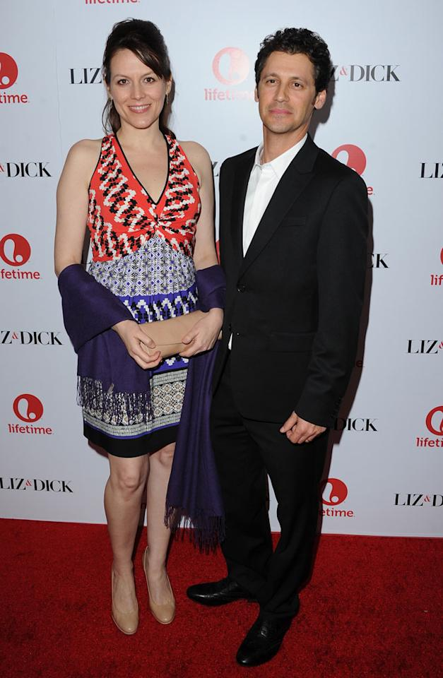 "Andy Hirsch and Kate Connor attend the premiere of Lifetime's ""Liz & Dick"" at the Beverly Hills Hotel on November 20, 2012 in Beverly Hills, California."