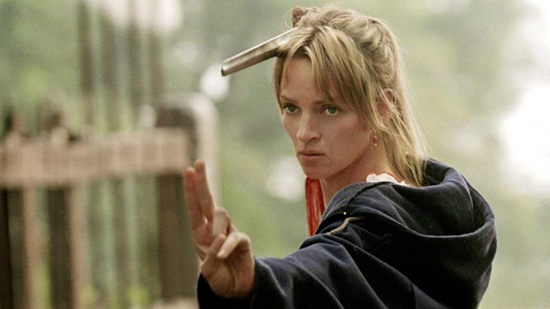 Uma Thurman in Kill Bill: Vol 2 (credit: Miramax)