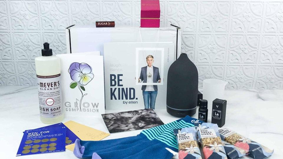 Ellen DeGeneres wants fans to self-pamper with