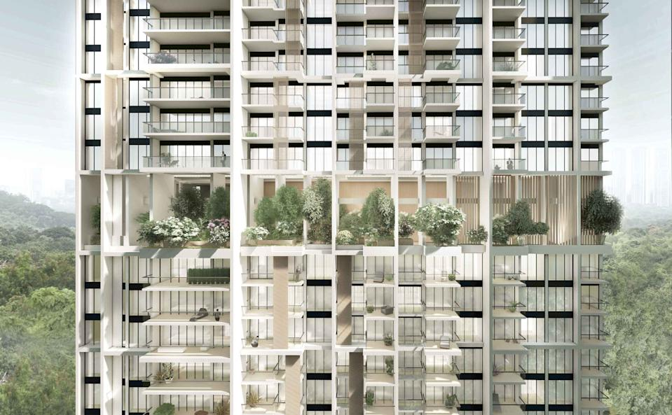 Singapore's government went so far as to sell the land to the developer of Avenue South Residences on the condition that PPVC technology was used in its construction.