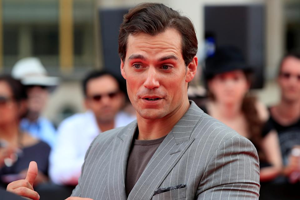 """Cast member Henry Cavill arrives to attend a photocall for the world premiere of the film """"Mission: Impossible - Fallout"""" in Paris, France, July 12, 2018.   REUTERS/Gonzalo Fuentes"""