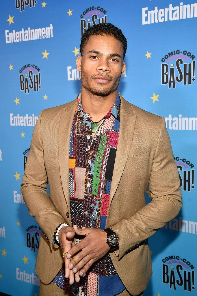 <p>Calloway has been busy since his days on Nickelodeon. He played douchebag Chuck Clayton in <em>Riverdale's</em> early seasons and most recently starred as Khalil Payne in <em>Black Lightning</em>. </p>