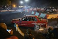 Drifting: Car 'spinning' has a huge following in South Africa (AFP/Michele Spatari)