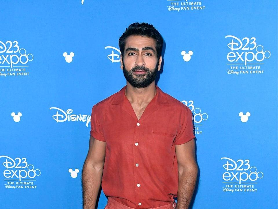 Kumail Nanjiani discusses transformation photos he shared to Instagram (Getty Images)