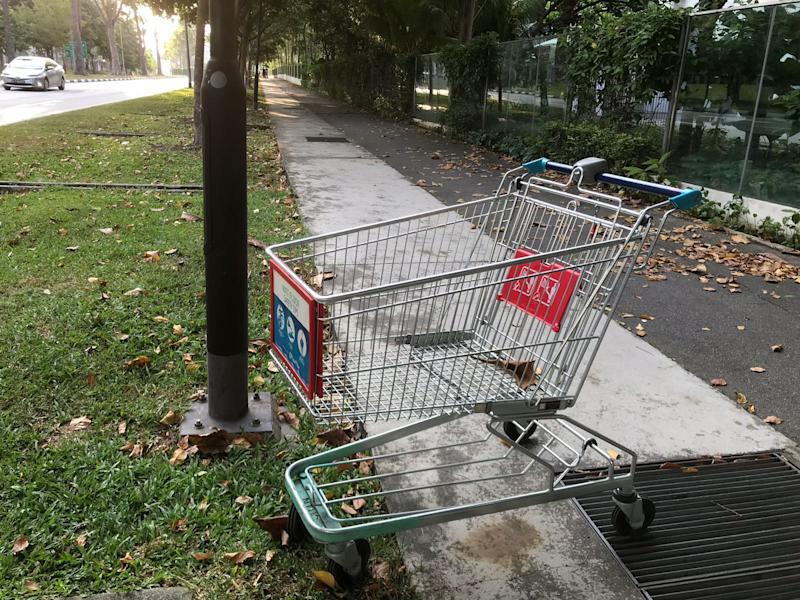 FairPrice, the largest supermarket chain in Singapore with 140 outlets, has received almost 2,000 reports of abandoned trolleys in just the first half of 2018