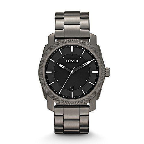 """<p><strong>Fossil</strong></p><p>amazon.com</p><p><strong>$89.78</strong></p><p><a href=""""http://www.amazon.com/dp/B0094KUKOI/?tag=syn-yahoo-20&ascsubtag=%5Bartid%7C10070.g.27787712%5Bsrc%7Cyahoo-us"""" rel=""""nofollow noopener"""" target=""""_blank"""" data-ylk=""""slk:SHOP NOW"""" class=""""link rapid-noclick-resp"""">SHOP NOW</a></p><p>This stainless-steel watch is water-resistant, which means that Dad won't have to worry about jumping in the pool and ruining it.</p>"""