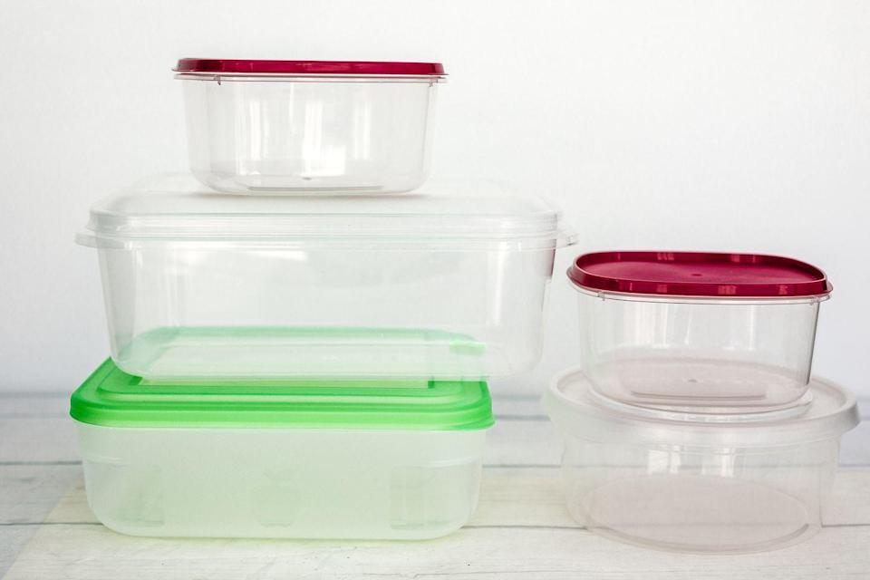 """<p>We've known for quite some time that as food sits in plastic it can begin to adsorb the dangerous chemicals inside. However, a <a href=""""https://www.medicalnewstoday.com/articles/221205"""" rel=""""nofollow noopener"""" target=""""_blank"""" data-ylk=""""slk:recent study"""" class=""""link rapid-noclick-resp"""">recent study </a>found that even """"safe,"""" BPA-free plastics can still leak chemicals into food.</p>"""