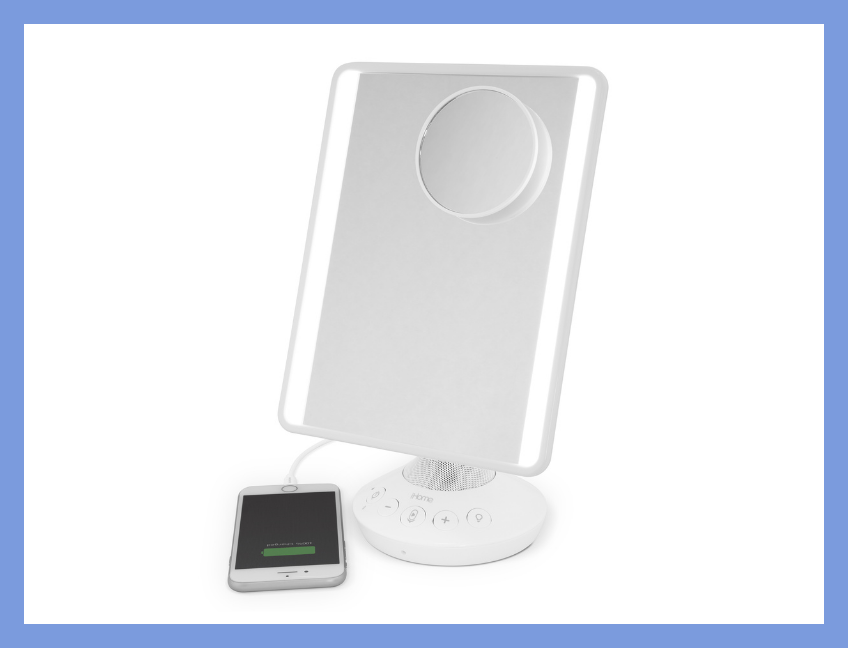 iHome Mirror with Bluetooth Audio. (Photo: Walmart)