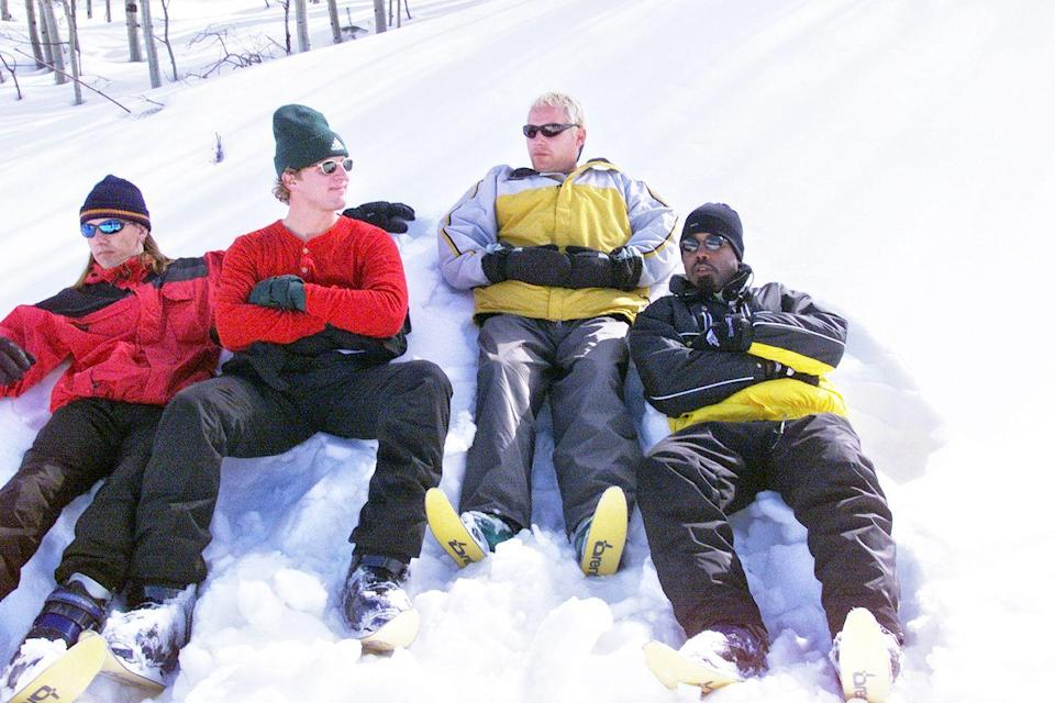 <p>Hootie and the Blowfish in Aspen in 1999. </p>