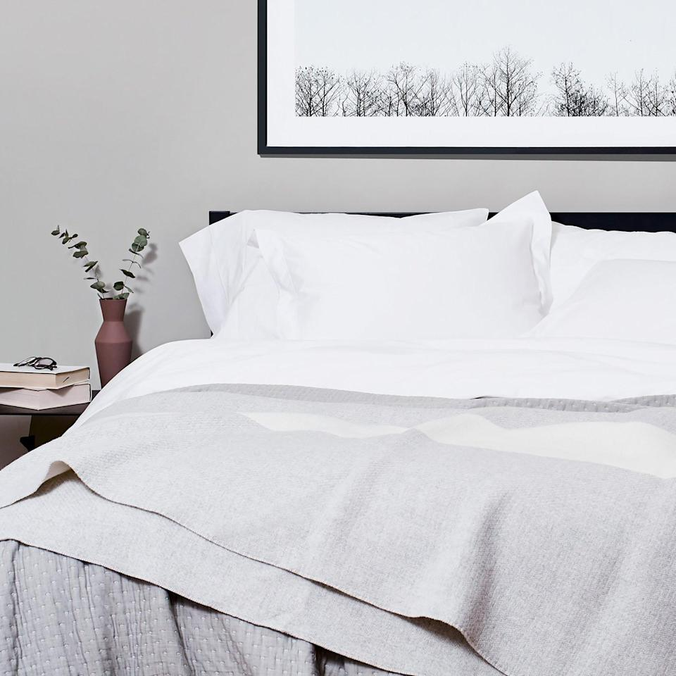 """<h3>Snowe Home</h3> <br>This simple but stylish brand boasts a lineup of home essentials spanning from premium kitchenware to stone-washed linen bedding and <a href=""""https://snowehome.com/products/classic-terry-bathrobe"""" rel=""""nofollow noopener"""" target=""""_blank"""" data-ylk=""""slk:plush bath pieces"""" class=""""link rapid-noclick-resp"""">plush bath pieces</a> that all comes Oeko-Tex certified (i.e. tested-for and ensured free-of harmful chemical treatments, like pesticides or lead), packaged in 100%-recycled cardboard, and produced in factories with the highest commitments to social and environmental standards — Snowe's eco-company outlook is that """"avoiding dangerous chemicals on our textiles means pouring less chemicals into factories and back into the environment.""""<br><br><em>Shop <strong><a href=""""https://snowehome.com/"""" rel=""""nofollow noopener"""" target=""""_blank"""" data-ylk=""""slk:Snowe Home"""" class=""""link rapid-noclick-resp"""">Snowe Home</a></strong></em><br><br><strong>Snowe</strong> Percale Sheet Set, $, available at <a href=""""https://go.skimresources.com/?id=30283X879131&url=https%3A%2F%2Fsnowehome.com%2Fproducts%2Fsheet-set"""" rel=""""nofollow noopener"""" target=""""_blank"""" data-ylk=""""slk:Snowe"""" class=""""link rapid-noclick-resp"""">Snowe</a><br><br><br>"""