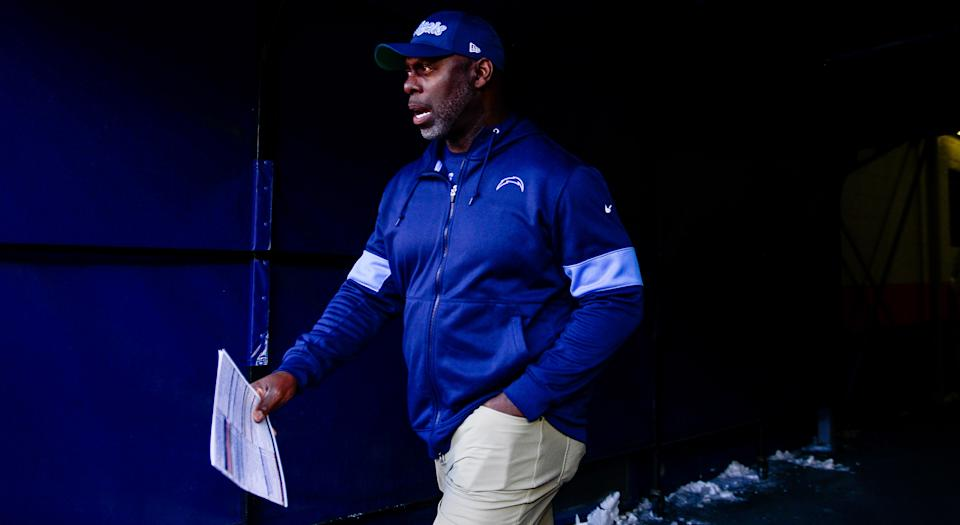 The Los Angeles Chargers aren't known for spending in free agency, but Anthony Lynn is coaching a talented squad in need of a quarterback. (Getty Images)