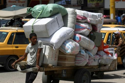 The International Monetary Fund projected Iraq's imports of goods and services would drop from $92 billion in 2019 to $84 billion this year
