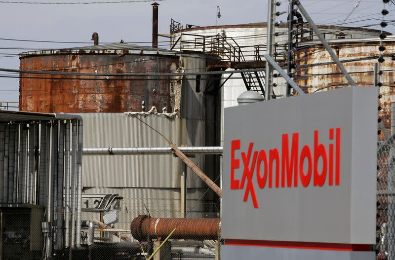 FILE PHOTO: View of the Exxon Mobil refinery in Baytown, Texas