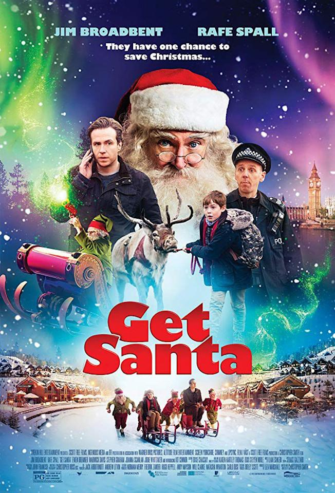 """<p><em>Get Santa</em> from 2014 has Saint Nick behind bars after crashing his sleigh and leaning on a father-son duo to help get him out and save Christmas. Consider this a family-friendly version of <em><a rel=""""nofollow"""" href=""""https://www.netflix.com/title/60031267"""">Bad Santa</a>.</em></p><p><a rel=""""nofollow"""" href=""""https://www.netflix.com/title/80020772"""">WATCH NOW</a></p>"""