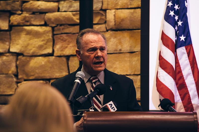 Roy Moore on Nov. 11.