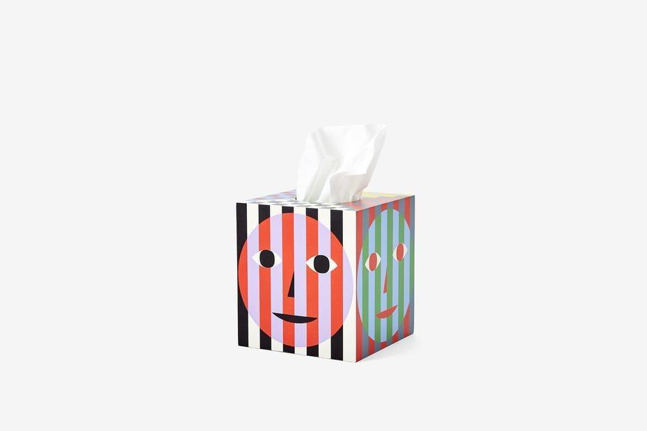 <p>Because why have an ugly tissue box? Invest in this <span>Dusen Dusen Everybody Tissue Box</span> ($35).</p>