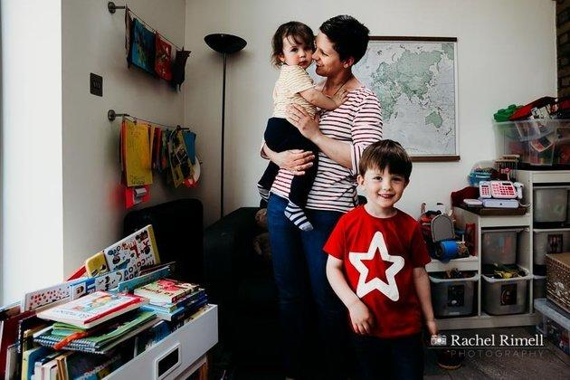 Becky is mum to three-and-a-half-year-old Mateo and 18-month-old Alberto.