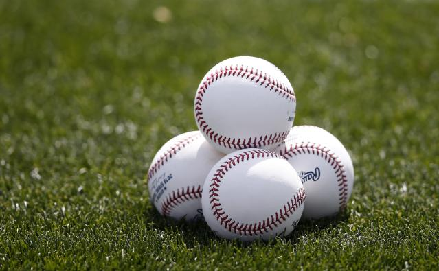 A youth baseball team in Chicago encountered racial slurs from the opposing team during warm-ups before a game on Sunday. (AP Photo/Ross D. Franklin)