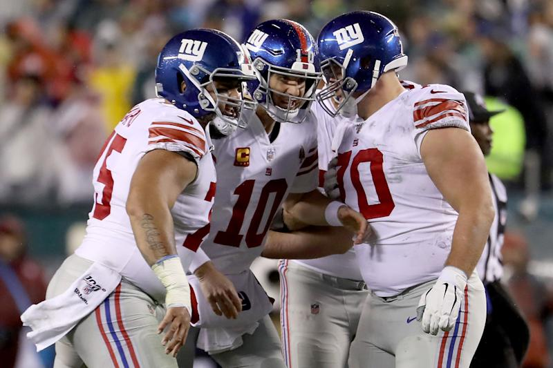 New York Giants: 5 Positives to take from Eagles loss
