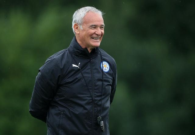 Claudio Ranieri during his time as Leicester manager
