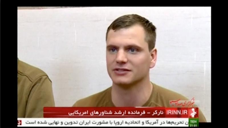 An unidentified U.S. sailor is seen apologising for his patrol boat having entered Iranian territorial waters in the Gulf by mistake in this still image taken from video taken at an unknown location on January 13, 2016. REUTERS/IRINN via Reuters TV ATTENTION EDITORS - THIS PICTURE WAS PROVIDED BY A THIRD PARTY. REUTERS IS UNABLE TO INDEPENDENTLY VERIFY THE AUTHENTICITY, CONTENT, LOCATION OR DATE OF THIS IMAGE. FOR EDITORIAL USE ONLY. NOT FOR SALE FOR MARKETING OR ADVERTISING CAMPAIGNS. THIS PICTURE IS DISTRIBUTED EXACTLY AS RECEIVED BY REUTERS, AS A SERVICE TO CLIENTS. NO RESALES. NO ARCHIVE. IRAN OUT. NO COMMERCIAL OR EDITORIAL SALES IN IRAN. NO ACCESS BBC PERSIAN. NO ACCESS MANOTO. NO ACCESS VOA PERSIAN.      TPX IMAGES OF THE DAY