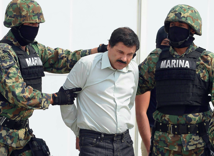 <em>Guzman has been convicted of drug trafficking and faces an expected life sentence (Getty)</em>