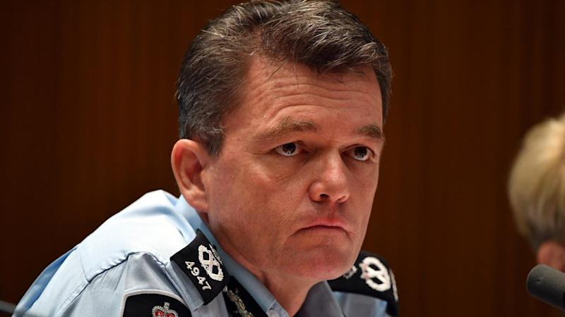 """Commissioner Andrew Colvin says the AFP does not act politically and raids are a """"last resort"""""""