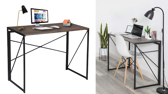 No tools required to assemble this desk.