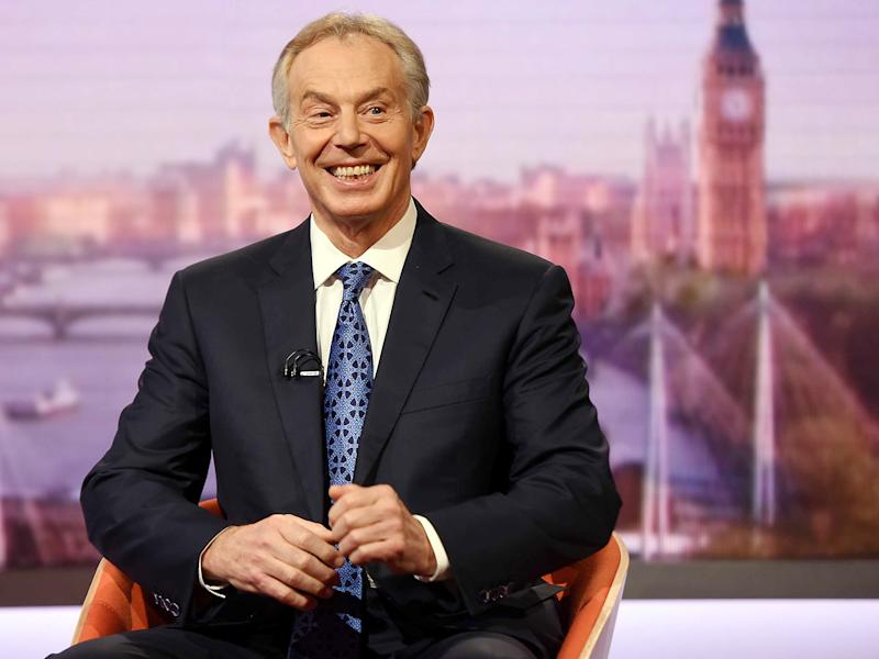 Tony Blair has indicated that he wants to get more involved in politics to oppose Brexit: BBC/PA Wire
