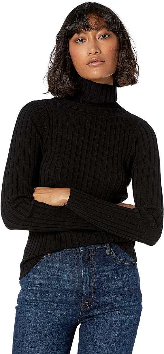 <p><span>The Drop Amy Fitted Turtleneck Ribbed Sweater</span> ($28, originally $40)</p>