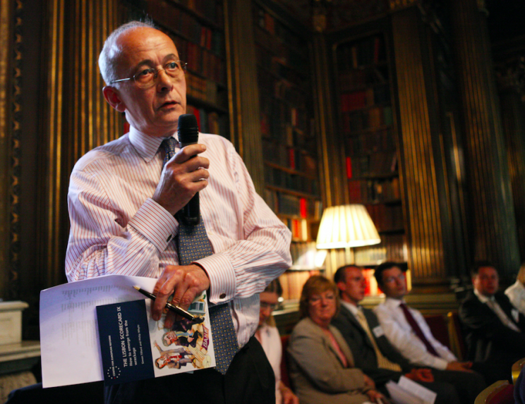 <em>Lord John Kerr believes there is only a 55% chance of a Brexit deal (Rex)</em>