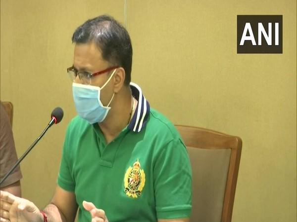 Goa Health Minister, Vishwajit Rane (Photo/ANI)
