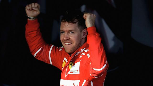 "Ferrari's Sebastian Vettel said the team were ""over the moon"" after their success in the season-opening Australian Grand Prix in Melbourne."