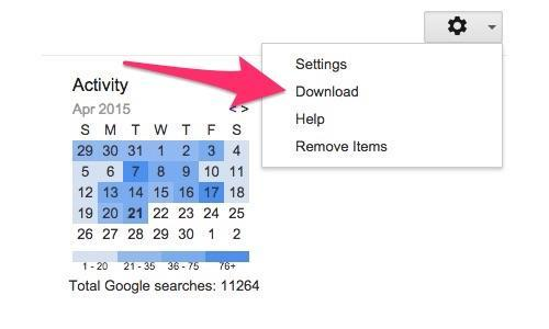 Here's How to Download and Delete What Google Search Knows