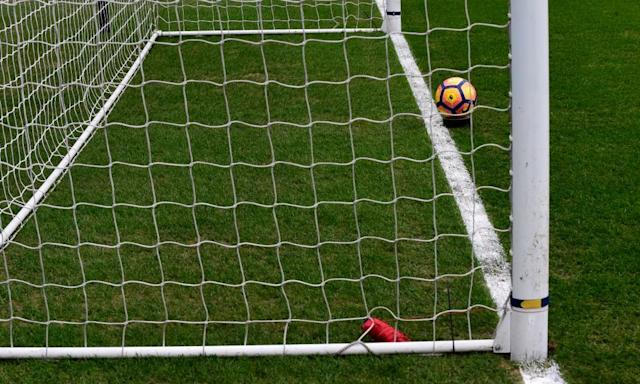 """<span class=""""element-image__caption"""">The goalline technology at grounds like Swansea's Liberty Stadium will be used at Championship matches next season. </span> <span class=""""element-image__credit"""">Photograph: Rebecca Naden/Reuters</span>"""