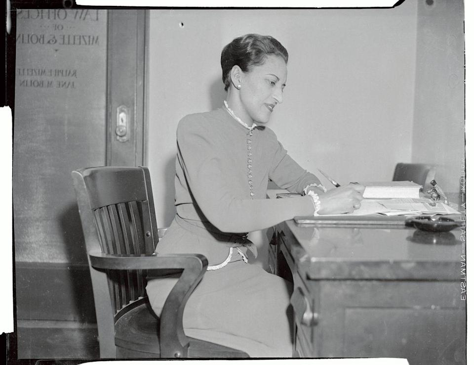 """<p>A pioneer in law, Jane Bolin was the first Black woman to attend Yale Law School in 1931. In 1939, she became the <a href=""""https://www.nytimes.com/2007/01/10/obituaries/10bolin.html"""" rel=""""nofollow noopener"""" target=""""_blank"""" data-ylk=""""slk:first Black female judge"""" class=""""link rapid-noclick-resp"""">first Black female judge</a> in the United States, where she served for 10 years. One of her significant contributions throughout her career was working with private employers to hire people based on their skills, as opposed to discriminating against them because of their race. She also served on the boards of the NAACP, Child Welfare League of America, and the Neighborhood Children's Center.</p>"""