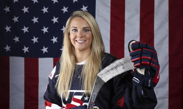 "Amanda Kessel: ""Every act of courage is just adding to the fire"""