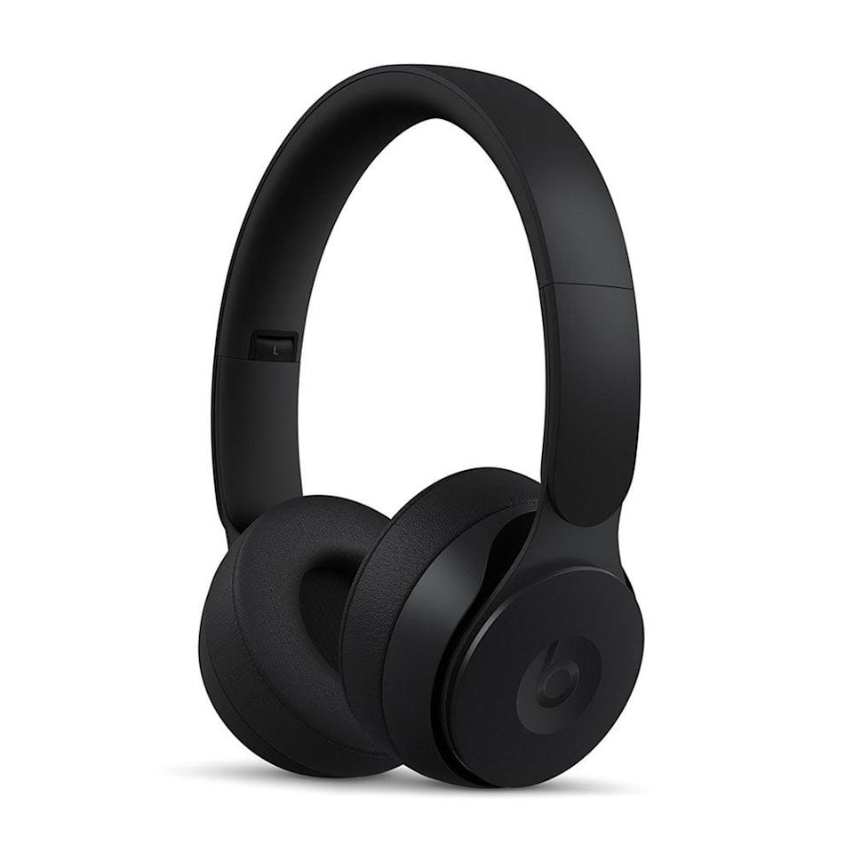 <p><span>Beats Solo Pro Wireless Noise Cancelling On-Ear Headphones with Apple H1 Headphone Chip</span> ($149, originally $300)</p>