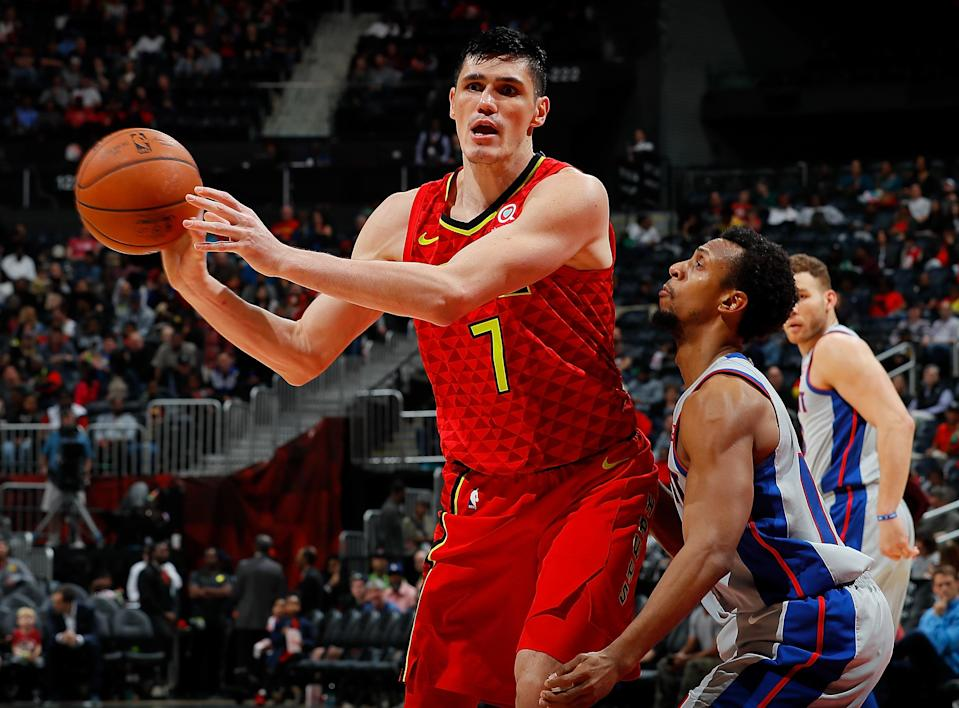 "<a class=""link rapid-noclick-resp"" href=""/nba/players/3962/"" data-ylk=""slk:Ersan Ilyasova"">Ersan Ilyasova</a> has averaged 10.9 points and 5.5 rebounds this season. (Getty)"
