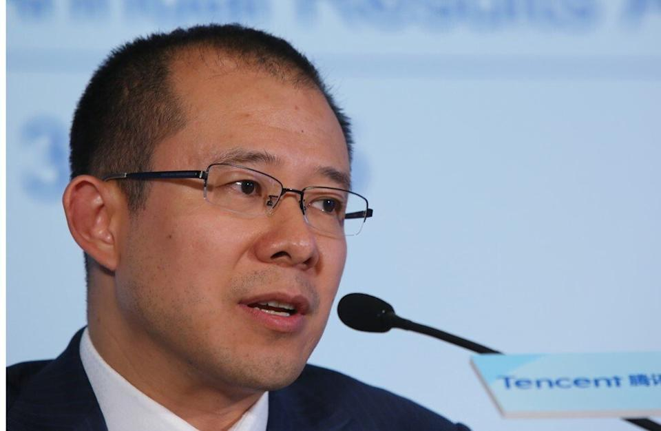 Tencent Holdings president Martin Lau Chi-ping. Photo: SCMP