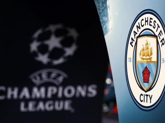 Man City are fighting the potential for a Champions League ban (Getty)