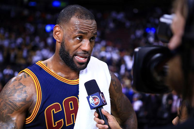 Cleveland Cavaliers star Le Bron James will reportedly consider seven teams in NBA free agency this summer. More
